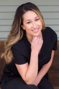 Alyssa, dental hygienist in Hollister, California