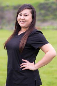 Samantha, dental assistant in Hollister, California