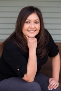 Noreena, office manager at dental office in Hollister, California